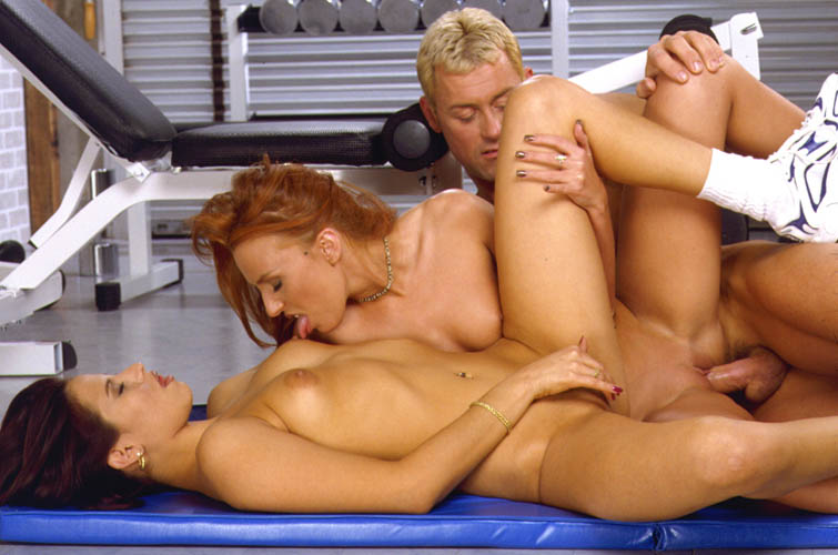 threesome 2 girls one man